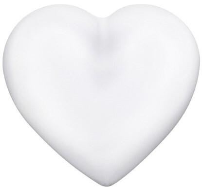Engelsrufer Bílá rolnička Srdce ERS-01-HEART-L
