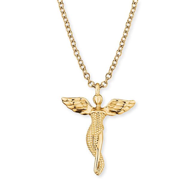 Engelsrufer Pozlacený náhrdelník Anděl ERN-LILANGEL-G