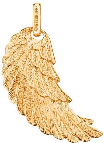 Engelsrufer Pozlacený stříbrný přívěsek Andělské křídlo ERW-G 2,3 cm ER0288