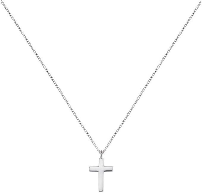 Engelsrufer Strieborný náhrdelník Krížik ERN-LILCROSS