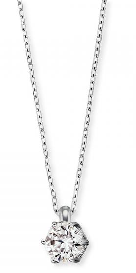 Engelsrufer Strieborný náhrdelník so zirkónom ERN-SHINE-ZI