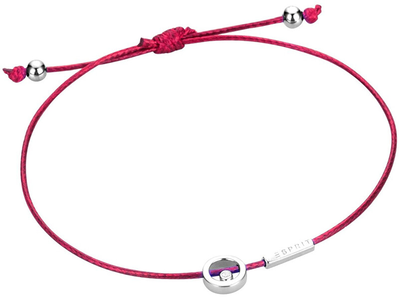 Esprit Červený šňůrkový náramek Mini ESBR00741921