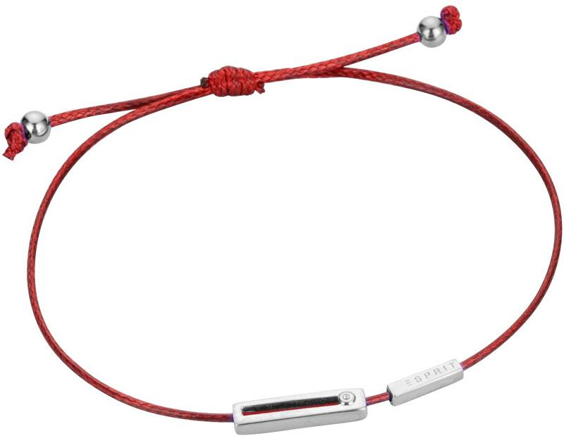 Esprit Červený šňůrkový náramek Mini ESBR00741C21