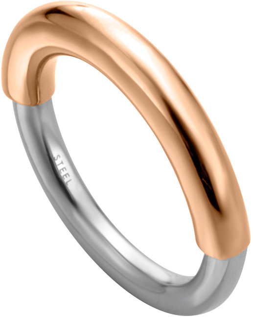 Esprit Elegantní bicolor prsten Tint ESRG003223 50 mm