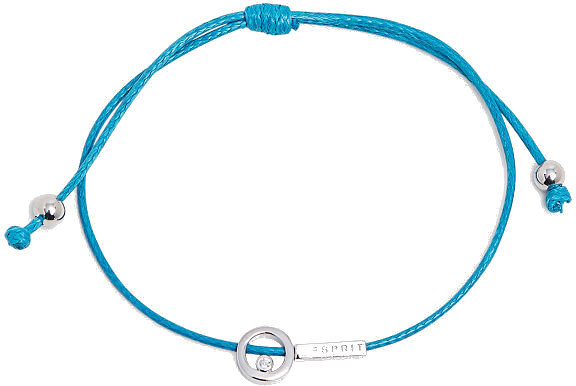 Esprit Modrý šňůrkový náramek Mini ESBR00741121