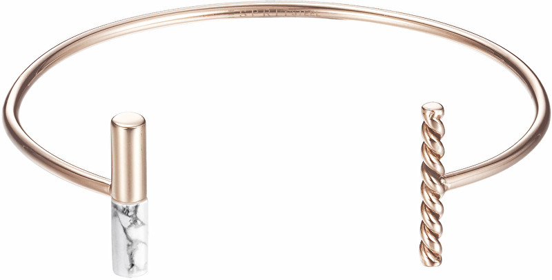 Esprit Pevný bronzový náramek ESPRIT-JW52913 ROSE