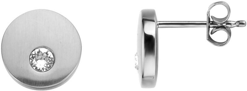 Esprit Ocelové náušnice pecky s krystalem Mind ESER00552100