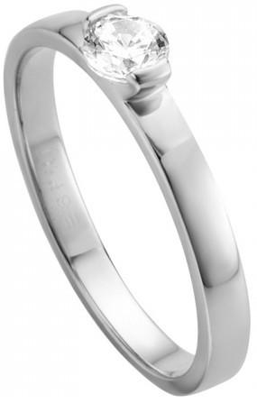 Esprit Stříbrný prsten s krystalem Bright ESRG005315 51 mm