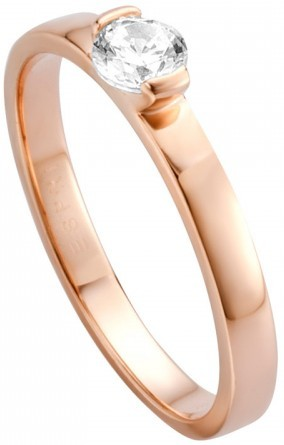 Esprit Stříbrný prsten s krystalem Bright ESRG005316 51 mm