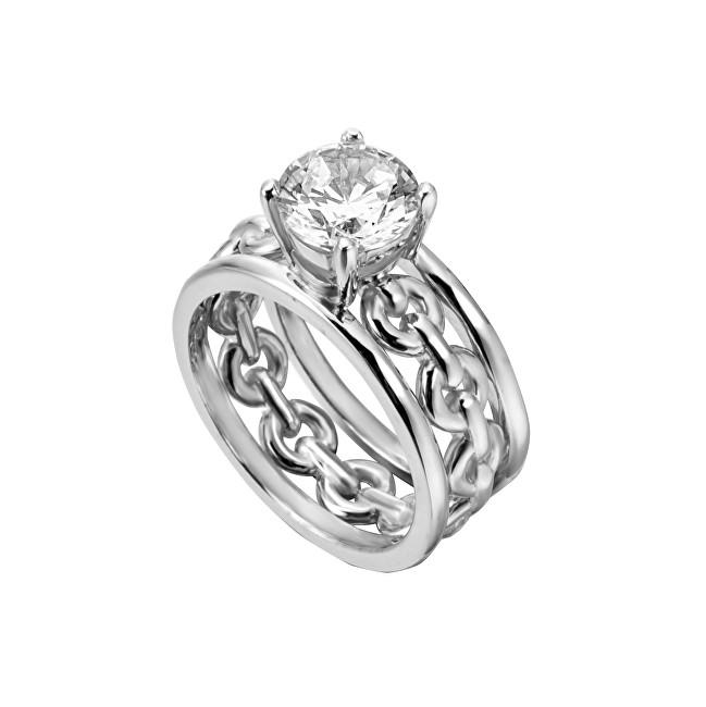 Esprit Inel din argint cu cristal Ann ESRG002611 51 mm