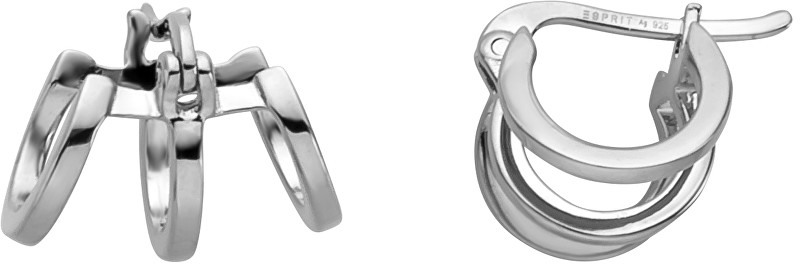 Esprit Stylové náušnice kroužky Iva Creole ESER00161100