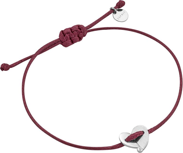 Esprit Vínový náramek se srdíčkem ESBR00831321