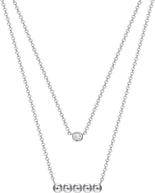 Esprit Vrstvený stříbrný náhrdelník ESPRIT-JW52905