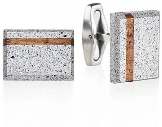 Gravelli Butoni din beton Falcon Wood GJCMWOG004UN