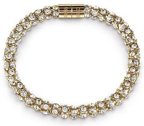 Guess Doamnelor placate cu aur brățară UBB28056