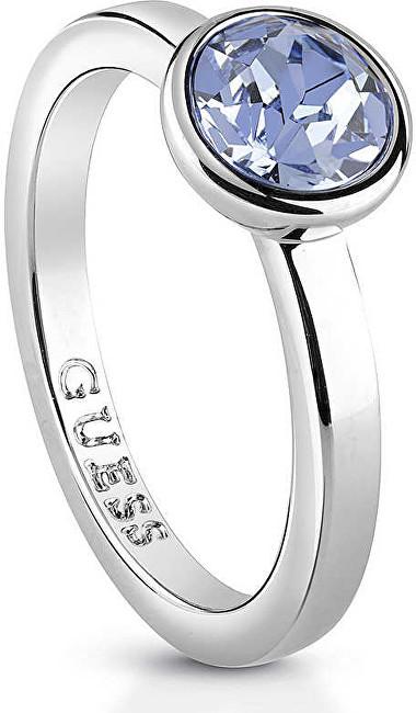 Guess Dámský prsten s krystalem UBR83020 52 mm