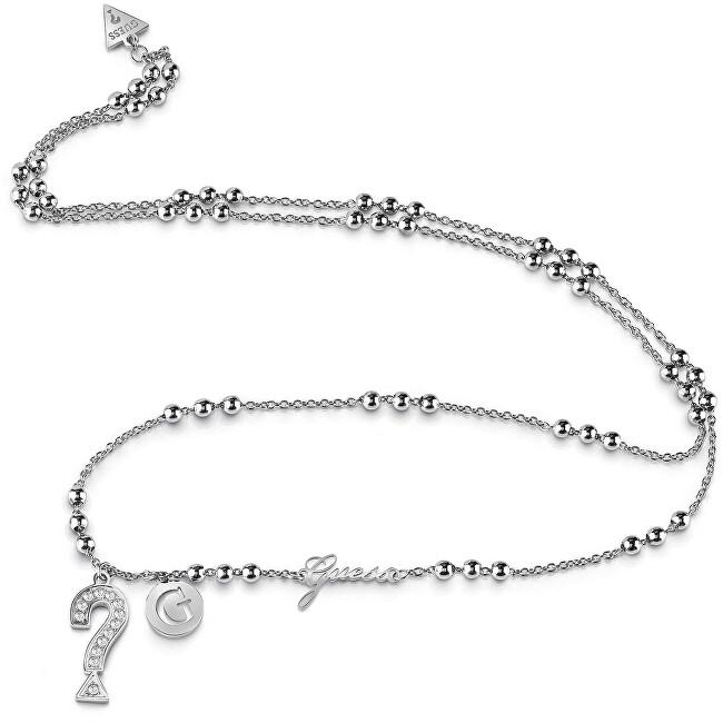 4192ec4ca Guess Dlouhý náhrdelník s korálky UBN85009