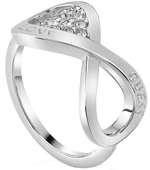 Guess Elegantní prsten Endless Love UBR85004 52 mm