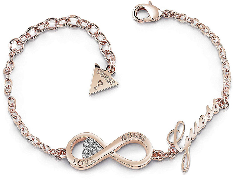 Guess Fashion náramok Endless Love UBB85066-S