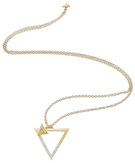 Guess Fashion pozlacený náhrdelník UBN83088