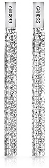 Guess Luxusní dlouhé náušnice UBE85051