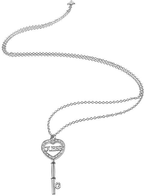 Guess Luxusní náhrdelník s klíčem UBN83096