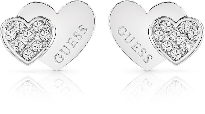 Guess Romantické náušnice UBE84118 Guess