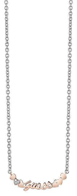 Guess Romantický náhrdelník Love Me More UBN83112