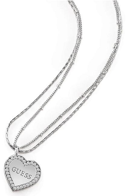 Guess Srdíčkový náhrdelník UBN84043
