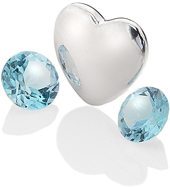 Hot Diamonds Element srdce s topazy Anais Prosinec EX131