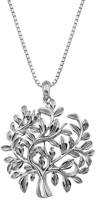 Hot Diamonds Luxusní stříbrný náhrdelník se stromem života Jasmine DP700 (řetízek, přívěsek)