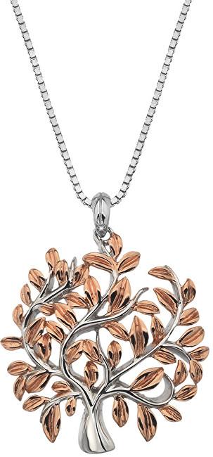 Hot Diamonds Luxusní stříbrný náhrdelník se stromem života Jasmine DP701 (řetízek, přívěsek)