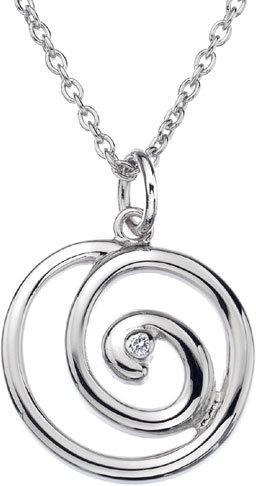 Hot Diamonds Náhrdelník Eternity Spiral DP371