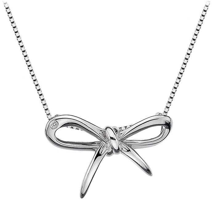 Hot Diamonds Stříbrný náhrdelník Flourish DP471