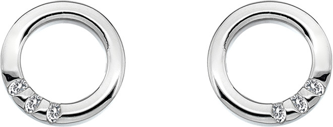 Hot Diamonds Náušnice Halo Circle DE417