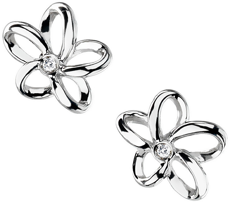 Hot Diamonds Náušnice Paradise Open Petal Stud DE248