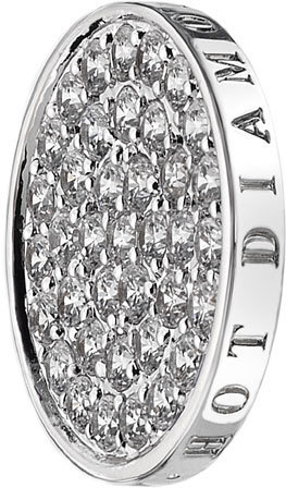 Hot Diamonds Přívěsek Emozioni Ice Sparkle Coin EC011-EC049 33 mm