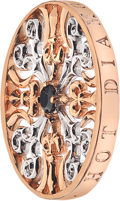 Hot Diamonds Přívěsek Emozioni Victorian Silver and Rose EC106-126 25 mm