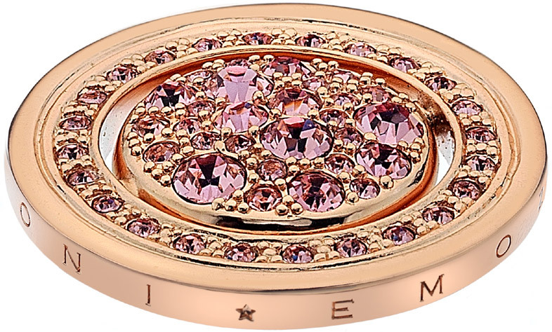 Hot Diamonds Prívesok Hot Diamonds Emozioni Estate e Primavera Rose zlaté EC251-257 25 mm