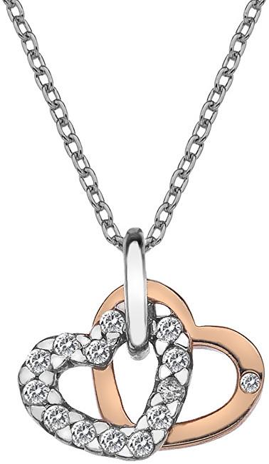 Hot Diamonds Přívěsek Hot Diamonds Valentines white topaz DP683
