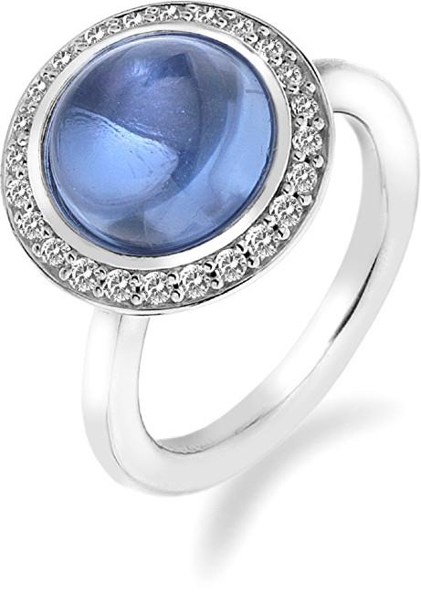 Hot Diamonds Prsteň Emozioni Laghetto Azure ER015 51 mm