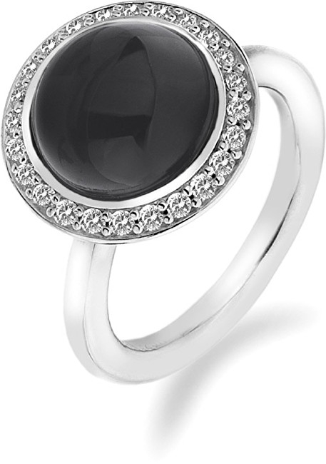 Hot Diamonds Prsteň Emozioni Laghetto Black ER013 51 mm