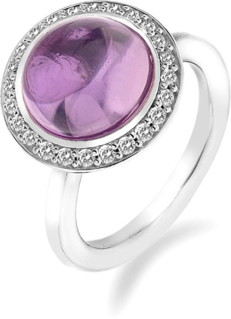 Hot Diamonds Prsteň Emozioni Laghetto Pink ER014 51 mm