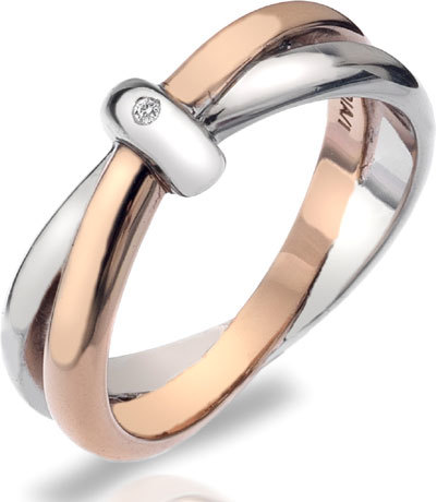 Hot Diamonds Prsteň Eternity Interlocking DR112 51 mm