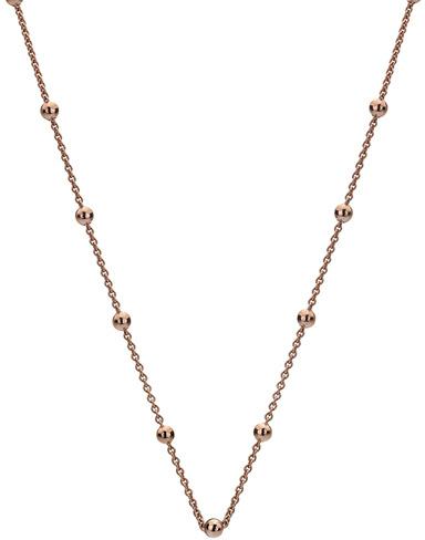 Hot Diamonds Lanț din argint placat cu aur roz Emozioni CH051
