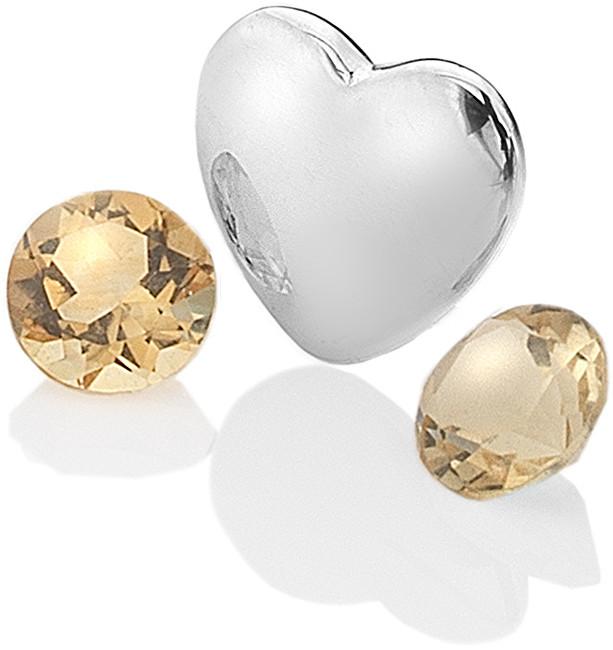 Hot Diamonds Elementy s citríny Anais Listopad EX130