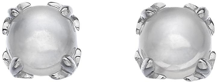 Hot Diamonds Strieborné náušnice Hot Diamonds Anais mesačný kameň AE006