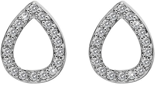 Hot Diamonds Stříbrné náušnice slzičky Micro Bliss DE555