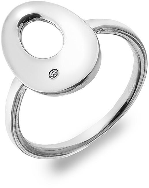 Hot Diamonds Stříbrný prsten s diamantem Emerge Oval DR160 51 mm