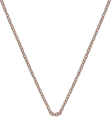 Hot Diamonds Řetízek Emozioni Rose Gold Curb 45 CH022